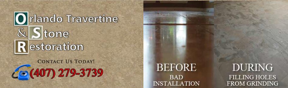 Orlando Travertine Restoration