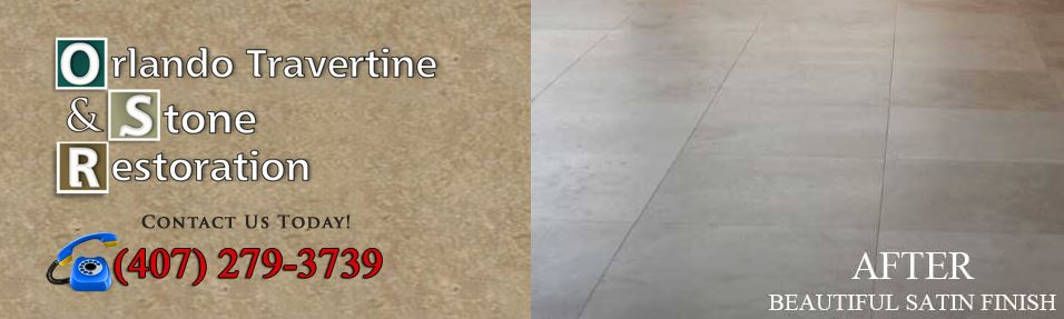 Orlando Travertine Restoration