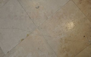 Travertine hole and crack repair