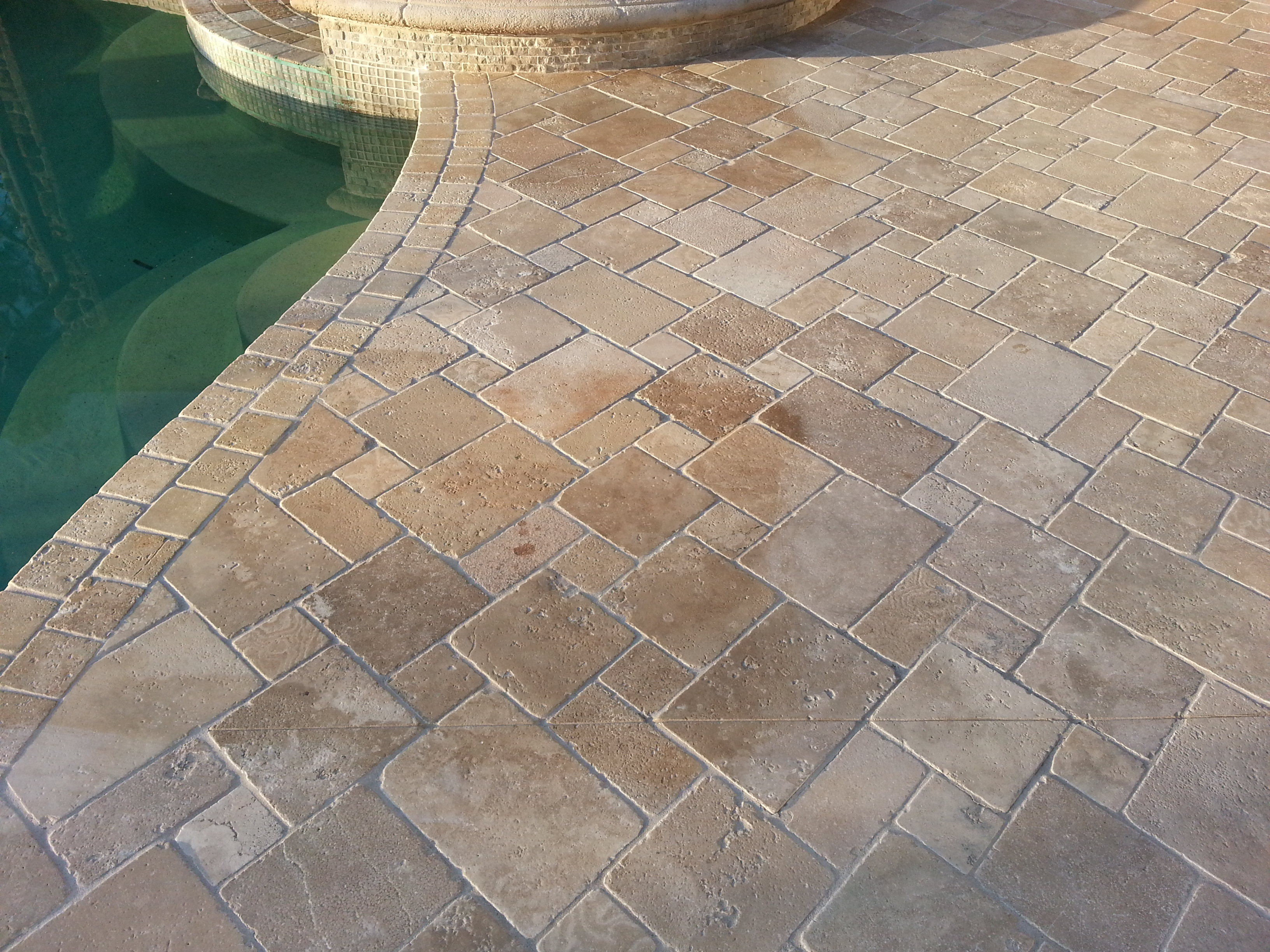 Exterior Travertine Tiles How To Keep Them Looking Their Best
